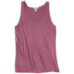 BOZZOLO Juniors Basic Solid Colors Tank Top