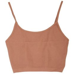 BOZZOLO Juniors Solid Fitted Crop Top
