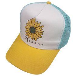 FloGrown Womens Sunflower Snapback Hat