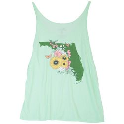 FloGrown Juniors Florida State Screen Print Tank Top