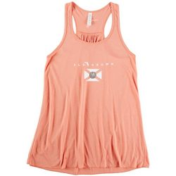 FloGrown Juniors Flag Racerback Tank Top