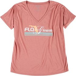 FloGrown Juniors Short Sleeve Logo T-Shirt