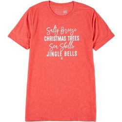 Sunshine State Womens Salty Breeze Christmas T-Shirt