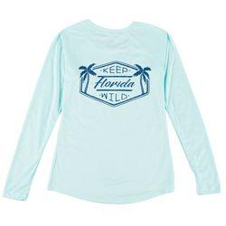 Sunshine State Womens Sun Protection Graphic T-Shirt
