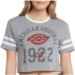 Dickies Juniors American Original Cropped T-Shirt