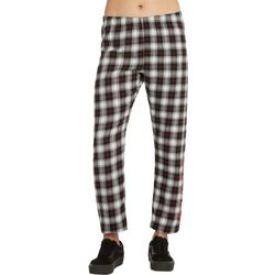 Dickies Girl Juniors Plaid Print Lounge Pants
