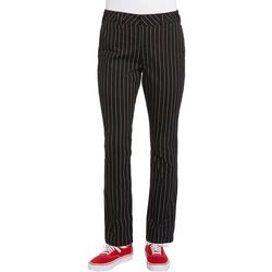 Dickies Girl Juniors Pinstripe Four Pocket Stretch Pants