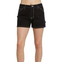 Girl Juniors Solid Carpenter Shorts