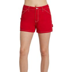 Dickies Girl Juniors Solid Carpenter Shorts