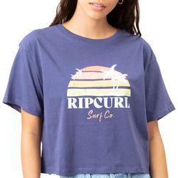Rip Curl Juniors Sunrise  Screenprint T-Shirt