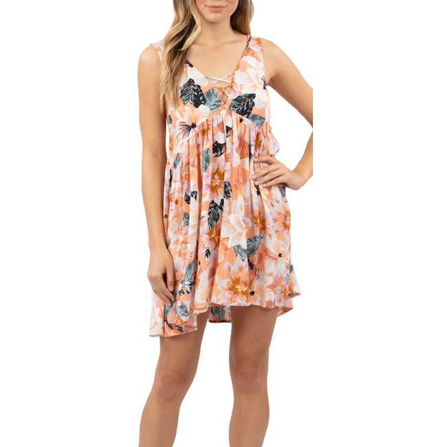 Juniors Super Bloom Dress   Bealls