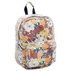 Juniors Canvas 18L Floral Backpack