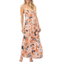 Juniors Super Bloom Maxi Dress