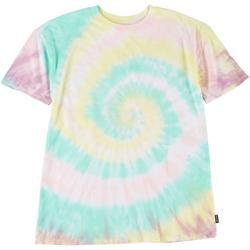 Juniors Tie Dye Short Sleeve T-Shirt
