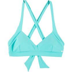 Rip Curl Solid Crisscross Full Support Bikini Top