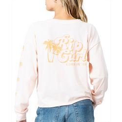 Rip Curl Juniors Under The Palms Long Sleeve T-Shirt