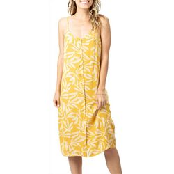 Rip Curl Juniors Ooh La Leaf Print Dress