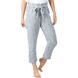 Rip Curl Juniors Lakeshore Stripes Cropped Pants