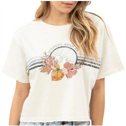 Rip Curl Juniors Square Fit Floral T-Shirt