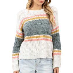 Rip Curl Juniors Cruzzin Striped Long Sleeve Sweater