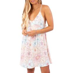 Juniors Fiesta Floral Beach Cover-Up Dress