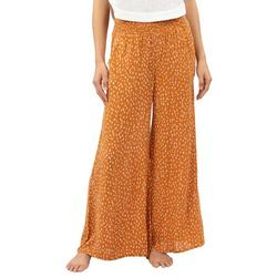Juniors Free At The Beach Wide Pants