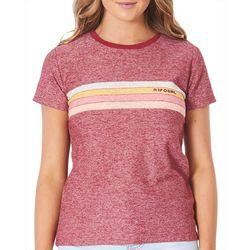 Rip Curl Juniors Surfboard Stripes T-Shirt
