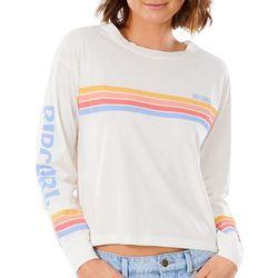Rip Curl Juniors Stripes Long Sleeve Top