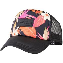 Womens Summer Floral Mesh Cap