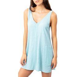 Rip Curl Juniors Linen Short Dress
