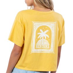 Rip Curl Juniors Back Graphic Print T-Shirt