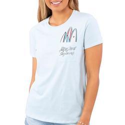 Juniors Surfboard Pocket Short Sleeve T-Shirt