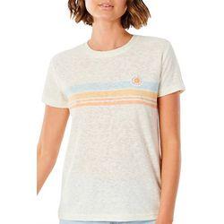 Rip Curl Juniors Striped Chest T-Shirt