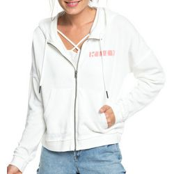 Roxy Juniors Take On The World Zippered Hoodie