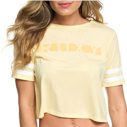 Roxy Juniors Wondering Why Cropped T-Shirt
