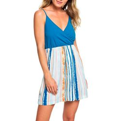 Roxy Juniors Striped Offering Strappy Dress