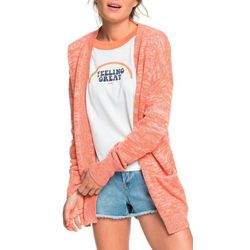 Roxy Juniors Valley Shades Solid Knit Cardigan