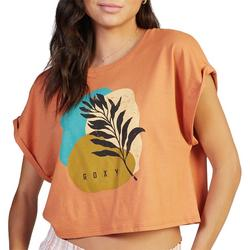 Juniors Sunny Days Cropped T-Shirt