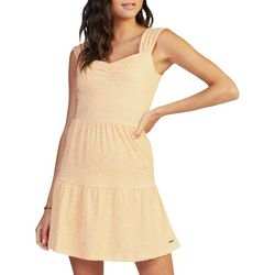 Roxy Juniors Sweetheart Neck Printed Dress