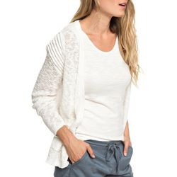 Roxy Juniors Liberty Discover Rib Knit Cardigan