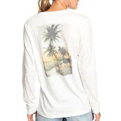 Roxy Juniors Paradise Lost Vintage Long Sleeve Top