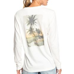 Roxy Juniors Paradise Lost Vintage Long Sleeve Top