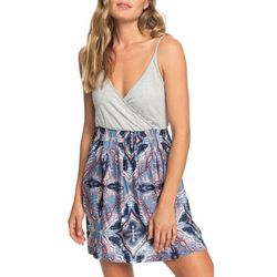 Roxy Juniors Abstract Mirage Strappy Dress