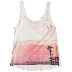 Roxy Juniors Sunset & Palms Tank Top