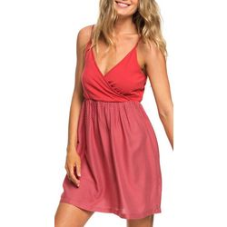 Roxy Juniors American Beauty Polka Dot Strappy Dress