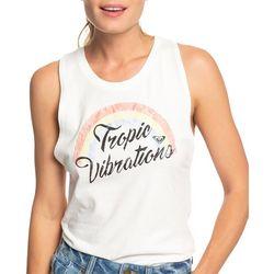 Roxy Juniors Tropic Vibrations Muscle Tank Top