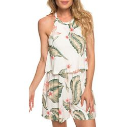 Roxy Juniors Favorite Song High Neck Strappy Romper