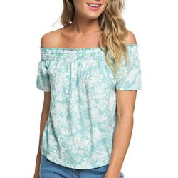 Roxy Juniors Rockafeller Vibes Off The Shoulder Top