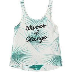Roxy Juniors Pop Surf Waves Of Change Tank Top
