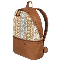 Roxy Juniors Faux Leather Aztec Print Backpack
